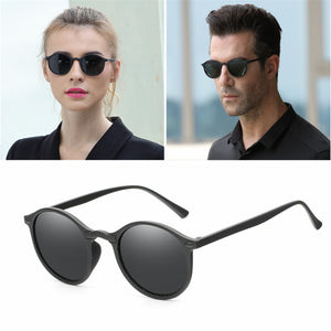 Polarized Round Sunglasses Retro Vintage style UV400