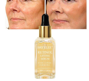 Highly Effective Breylee Anti Wrinkle Serum Vitamin A Moisturizing Collagen Essence Remove Wrinkle, Anti Aging Face Lifting, Firming