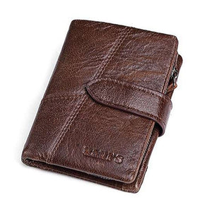 Smart Wallet with GPS, Bluetooth Alarm Genuine Leather Mobile App Controlled