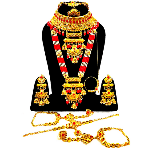 Traditional Style Bridal Jewelry Set Designer Bridal Jewelry