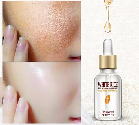 White Rice Horec Face Whitening Serum Anti Wrinkle Anti Aging Fine Lines and Acne Treatment
