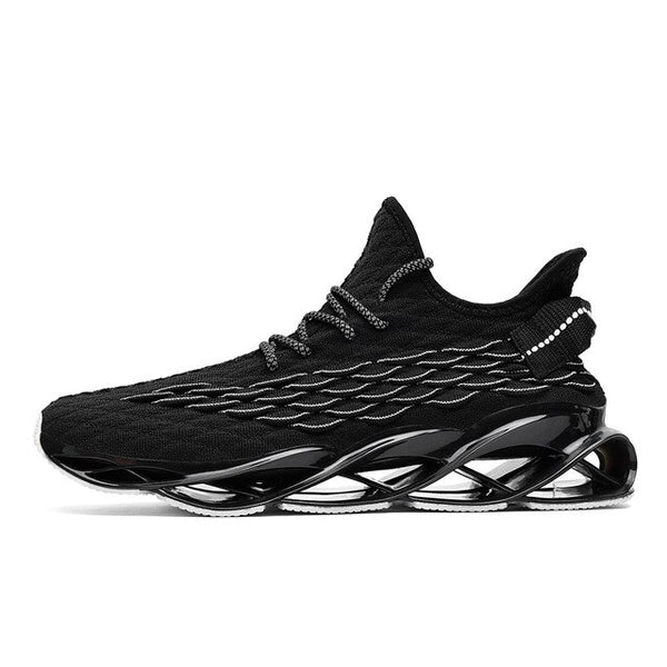 New Breathable Running Shoes for Men Blade Cushioning Sneakers Casual Athletic Shoes