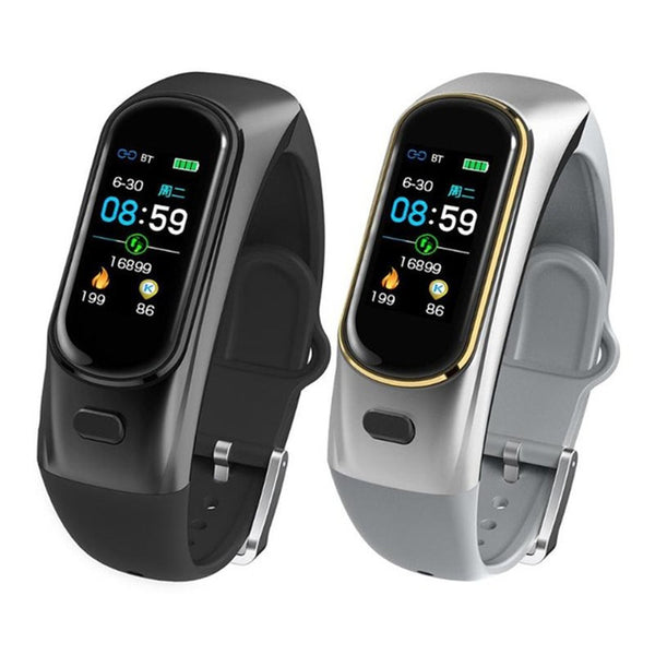 Smart Watch Multi-functional Earphone 2-in-1 with Oximeter, Heart Rate, Blood Pressure, Call Reminder