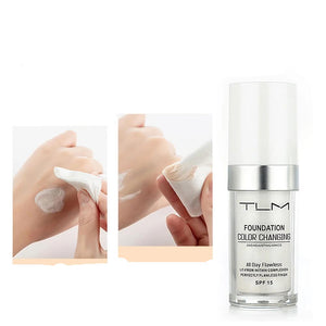 Flawless Bright Skin with Color Changing Liquid Cream Long Lasting fairness Matte Oil-Control