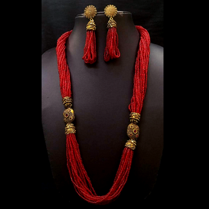 Moti mala Necklace Set