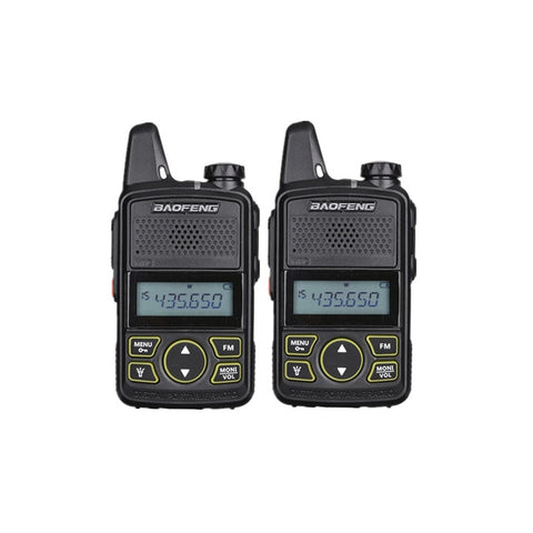 Baofeng BF-T1 Mini Walkie Talkie UHF Portable Two Way Radio HF Transreceiver