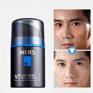 Men's Instant Fairness Whitening Face Cream Oil-control Long-lasting Breathable Ointment Nutrition Cream