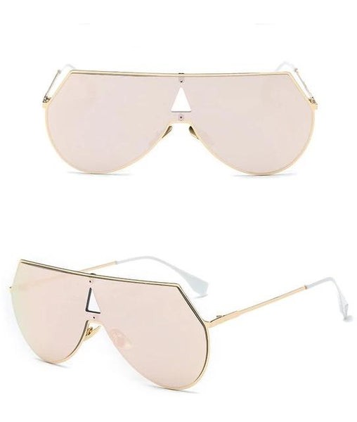 Steampunk Women Sunglasses Pink, Gold, Silver 7 Colors