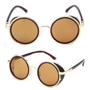 Women Round Glasses Goggles - 8 Colors