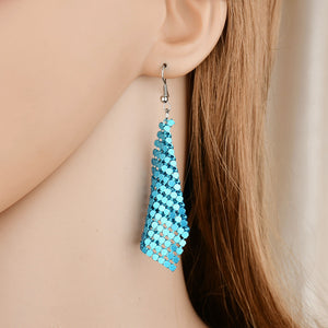 Charm 7 color Sequin Earrings Simple and Stylish