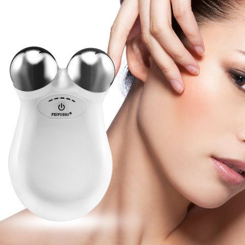 Mini Microcurrent Facial Wrinkle Remover Face Lift Skin Tightening Device