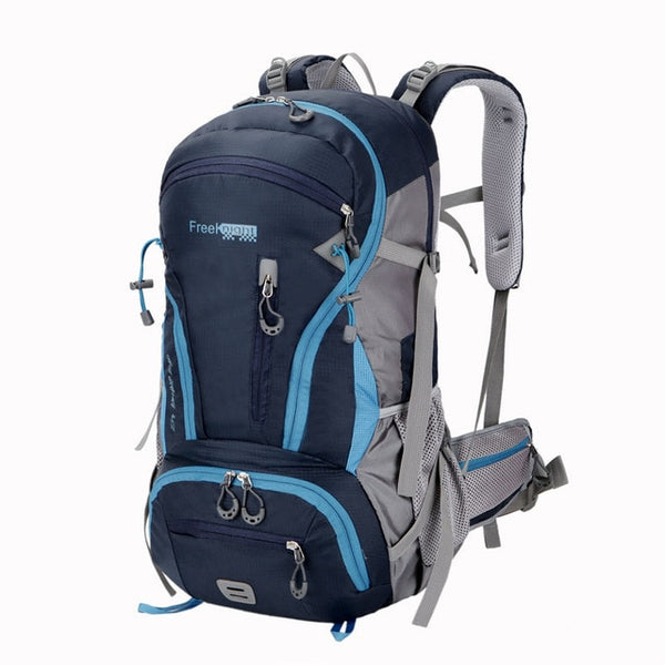 45L Big Spacious Outdoor Travel Rucksack Backpack Bag for Camping Hiking Climbing Trekking Sports Bag