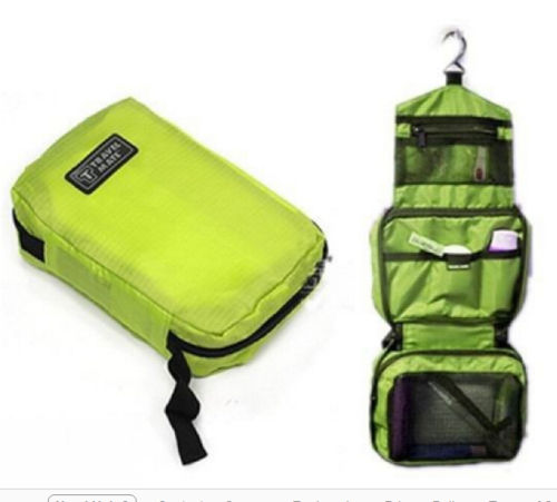 Travel Bag Folding Bag Hanging Bag Portable Organizer Bag for Toiletries, Cosmetic, Shaving other belongings Storage