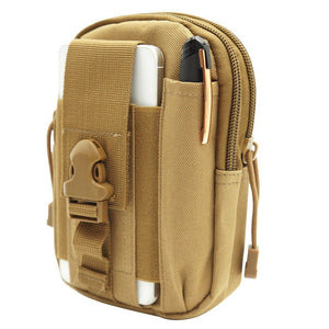 Outdoor Camping Bag Pouch Mobile Phone Pouch Bag, Sport Running Pouch Travel Bag