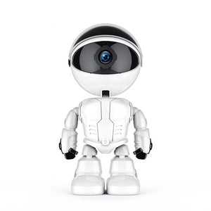 Wireless WiFi Robot Home Security CCTV IP Camera FullHD 1080P, Cloud Recording Intelligent Auto Tracking Camera