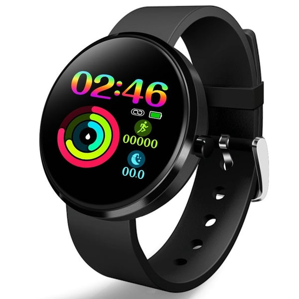 Smart Watch IP68 Heart Rate Blood Pressure Monitoring Fitness Tracker
