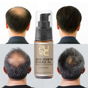 PURC Fast Hair Growth Essence Oil Hair Loss Treatment Help for hair Growth Hair Care 20ml