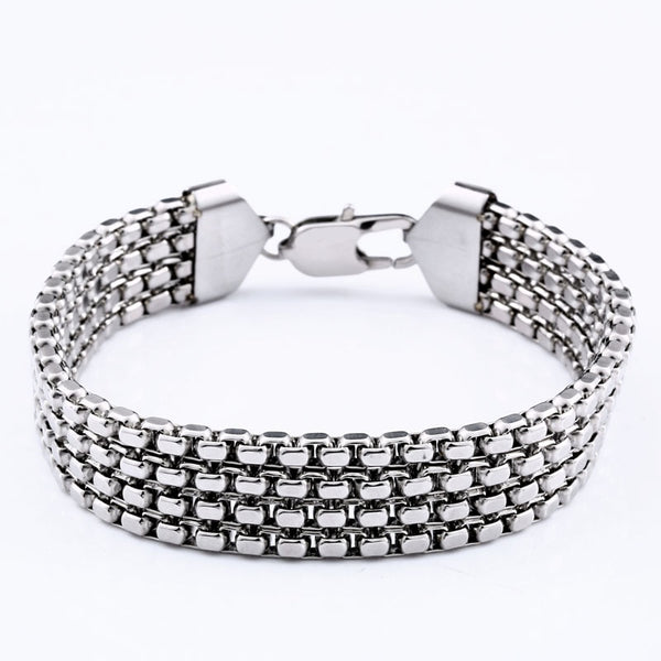 Never Fade Shine Stainless Steel Chain Bracelets For Man