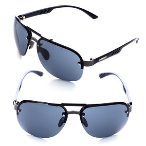 Casual Men Sunglasses Metal Frame Sunglasses with UV Protection 4 Colors