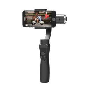 3-Axis Handheld Gimbal Stabilizer with Auto Focus for Smartphones and Action Cameras