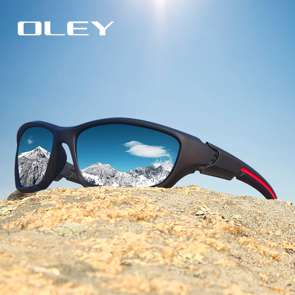 Men Bikers Trackers Polarized Sunglasses with Night-vision - 5 Colors