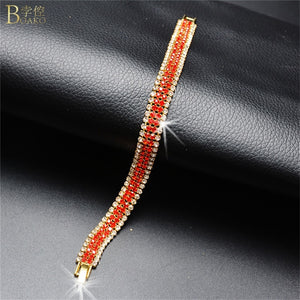 Red Luxury Crystal Bracelet