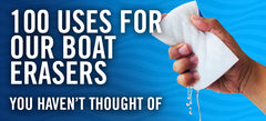 100 Ways To Use Our Boat Erasers You Haven't Thought Of