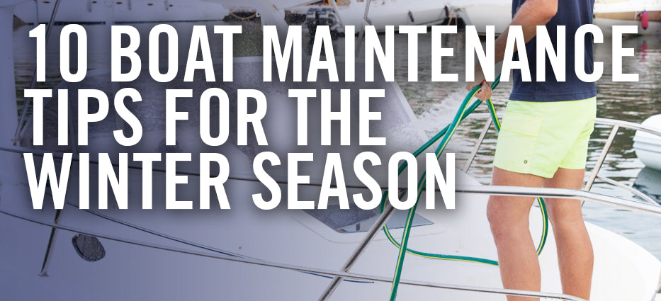 What to do before putting boat in storage for winter season