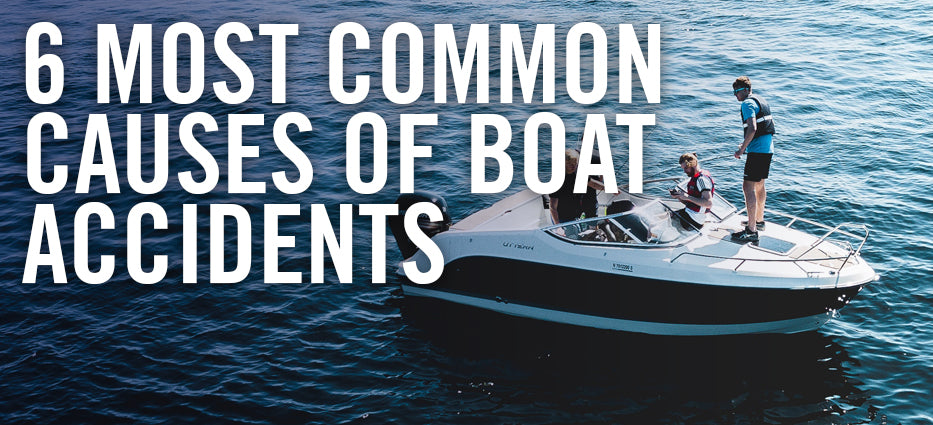 What causes boat accidents