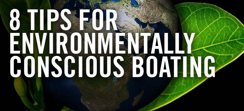 How to boat so is safe for the environment