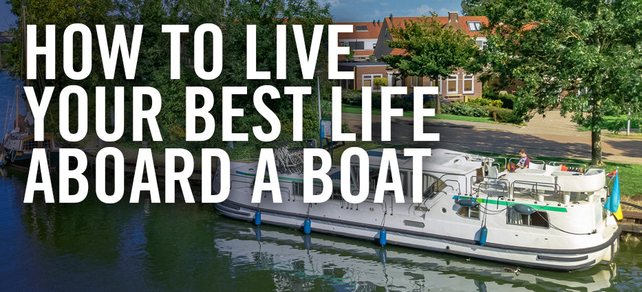 Is it hard or fun to live on a house boat