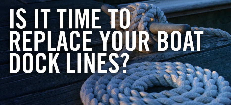 How long do boat dock lines last for