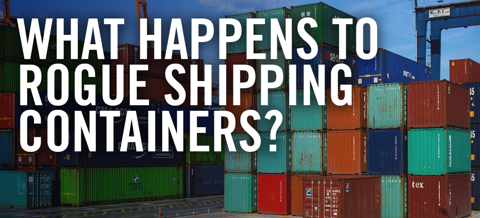 What happens to lost shipping containers