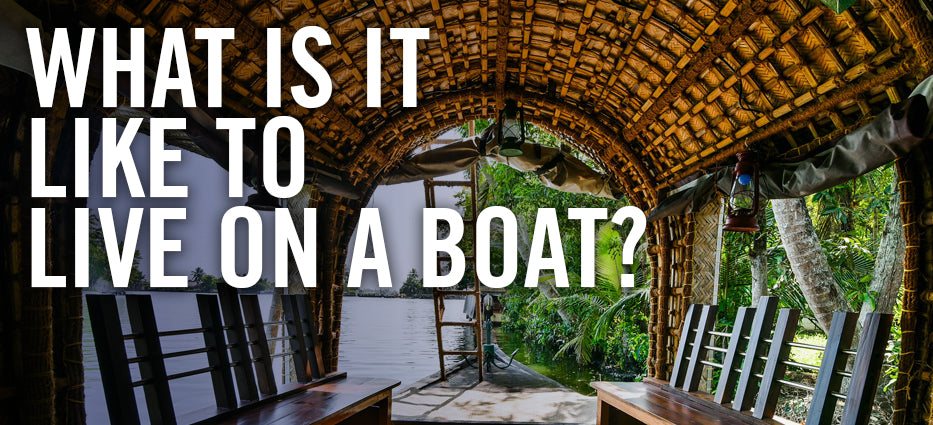 How and what to know to live on a houseboat