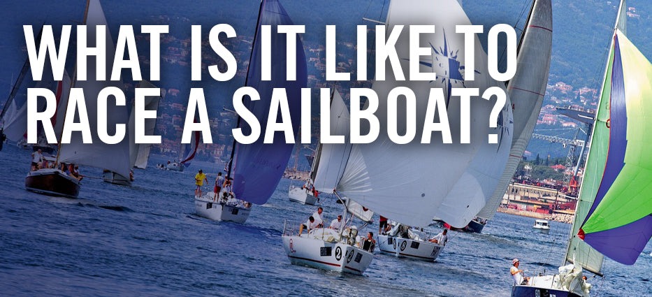 How do they race sailboats?