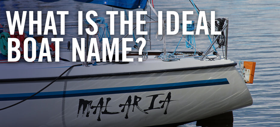 How to name a boat