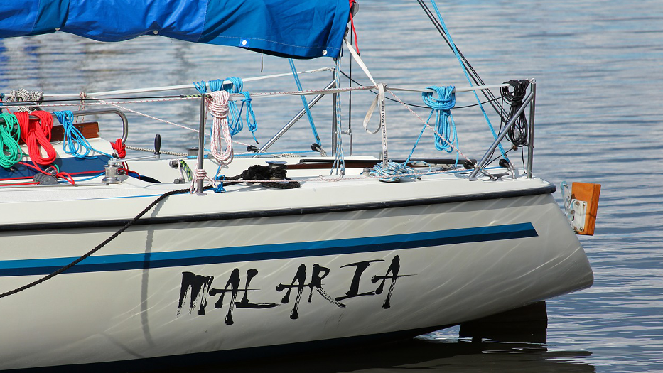 Ideal Boat Name malaria