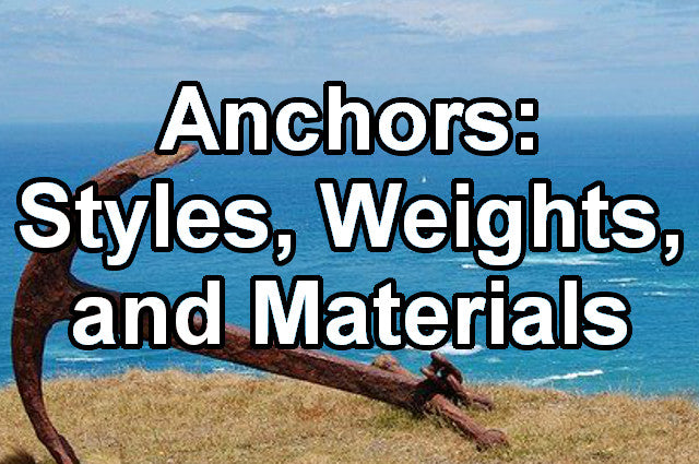anchor styles weights and materials thumb splash