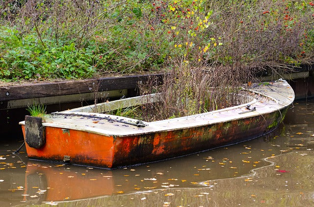 3 easy ways to clean vinyl seats overgrown abandoned boat