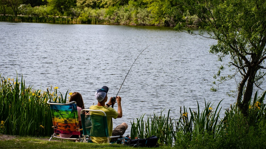 Where are the top 10 best fishing spots in the United States? kids casting