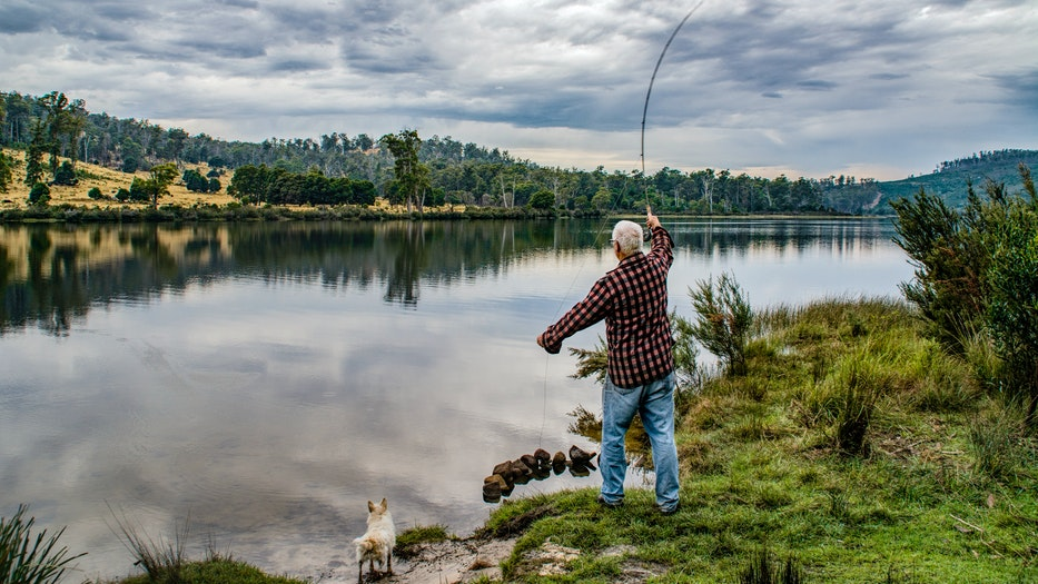 Where are the top 10 best fishing spots in the United States? man cast