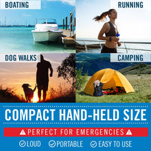 Load image into Gallery viewer, Better Boat Air Horn Uses Running Camping Walking Dog 1.4oz
