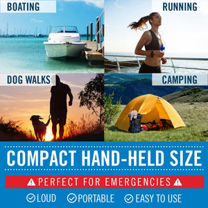 Better Boat Air Horn Uses Running Camping Walking Dog 1.4oz