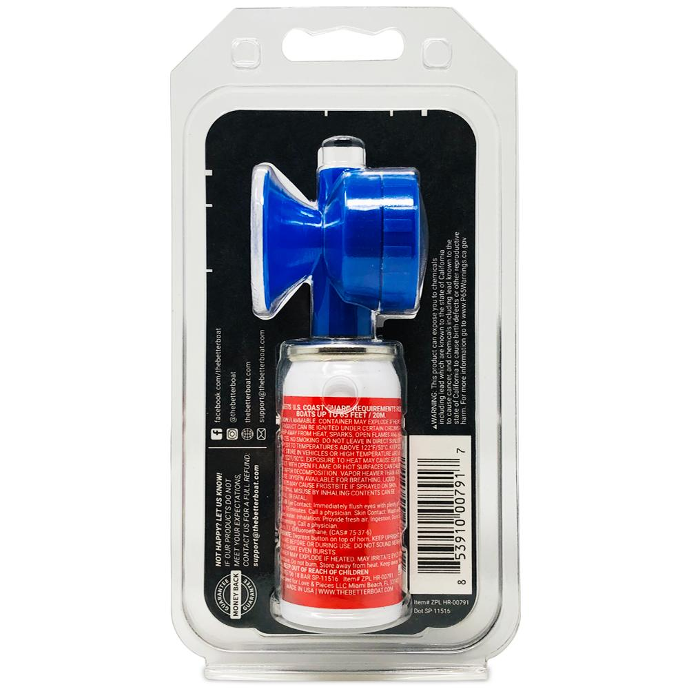 Load image into Gallery viewer, Better Boat Air Horn 1.4oz in package