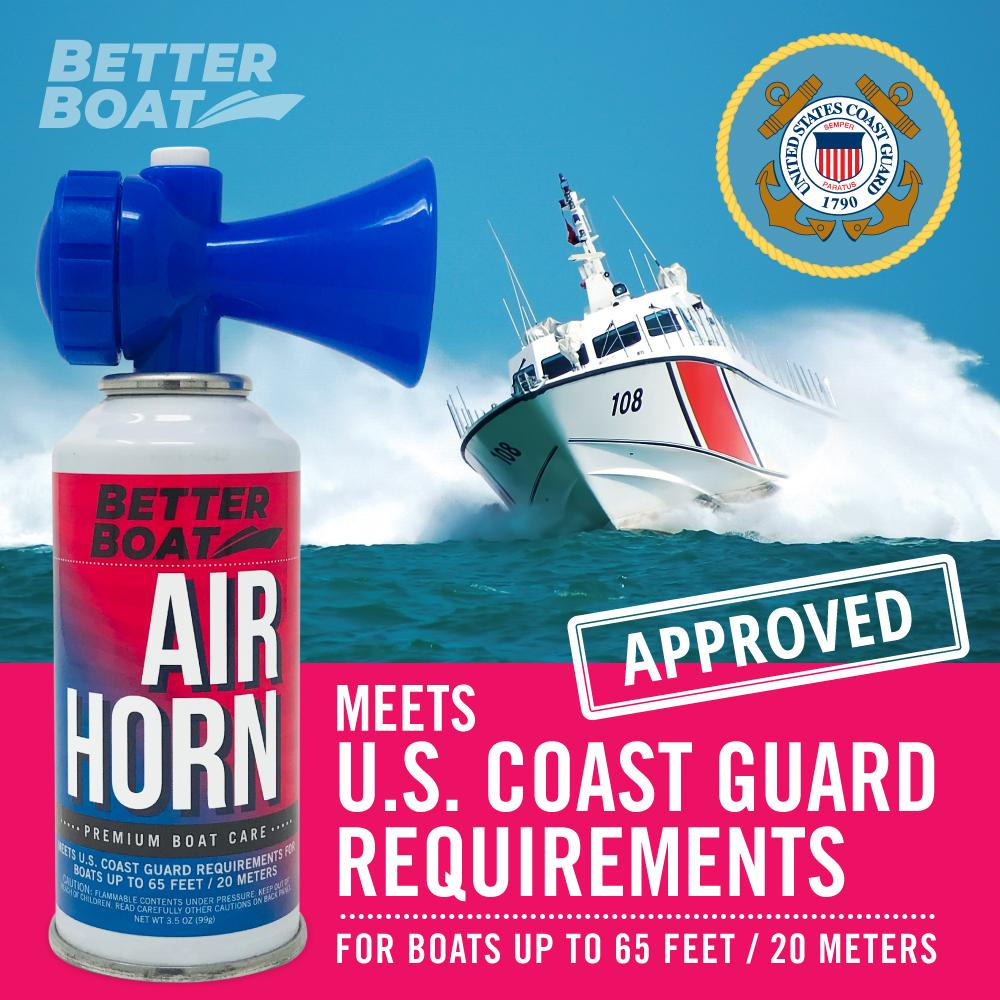 Load image into Gallery viewer, Better Boat Air Horn 3.5oz Coast Guard Approved
