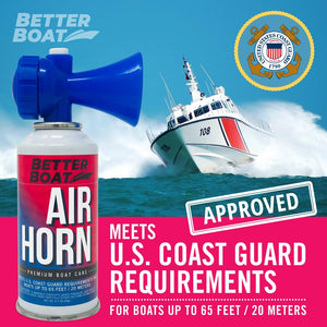 Better Boat Air Horn 3.5oz Label