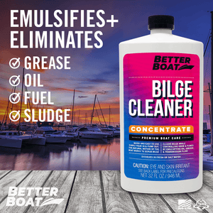 Bilge Cleaner Concentrate on a Deck