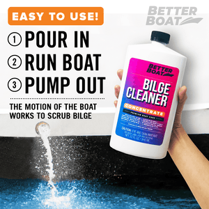 Bilge Cleaner Concentrate Clean out Boat Bilges