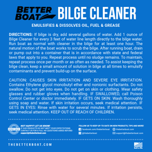 Load image into Gallery viewer, Bilge Cleaner Concentrate Back Label