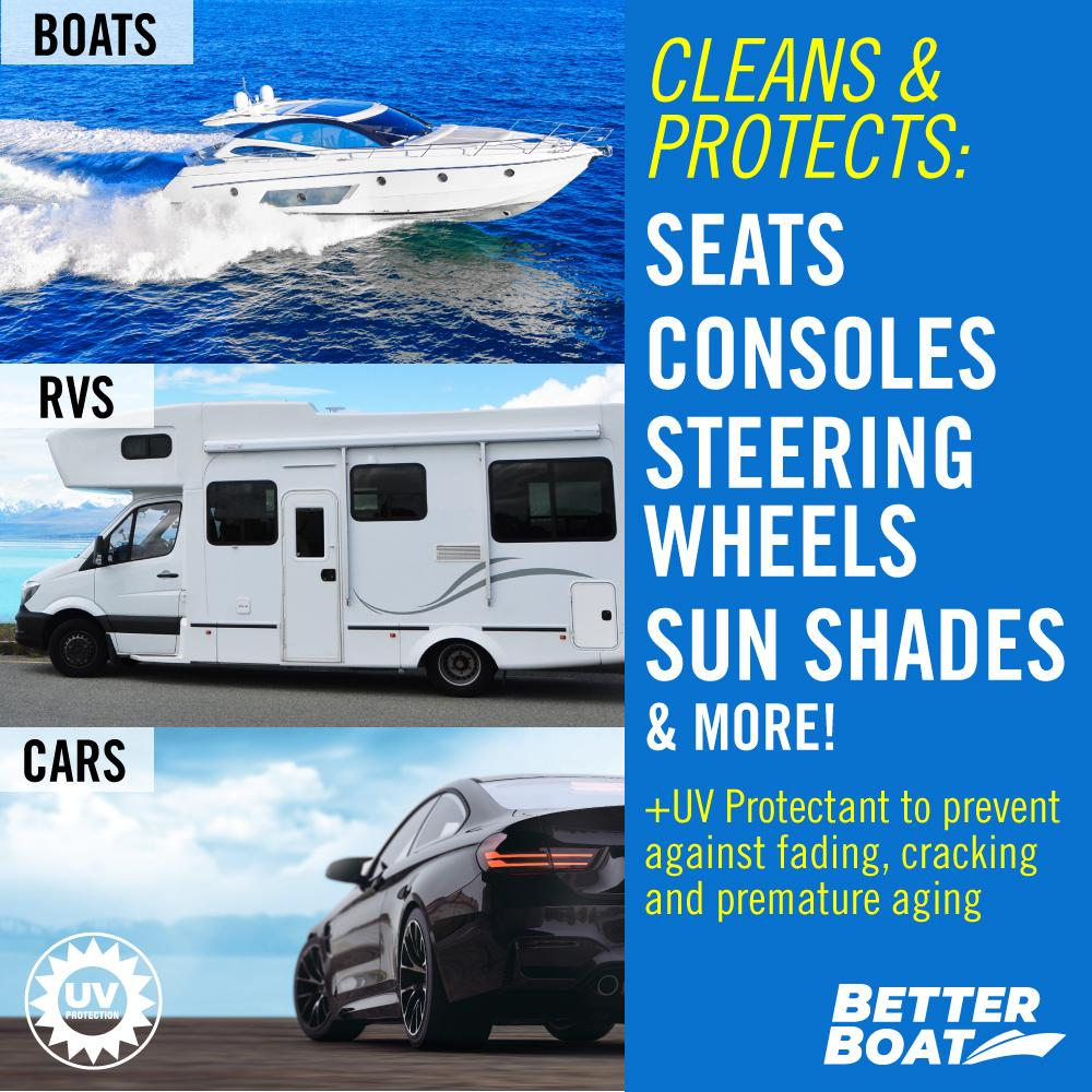 Load image into Gallery viewer, Boat Cleaner Wipes With UV RV boat and car